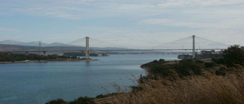 Η υψηλή γέφυρα του Ευρίπου